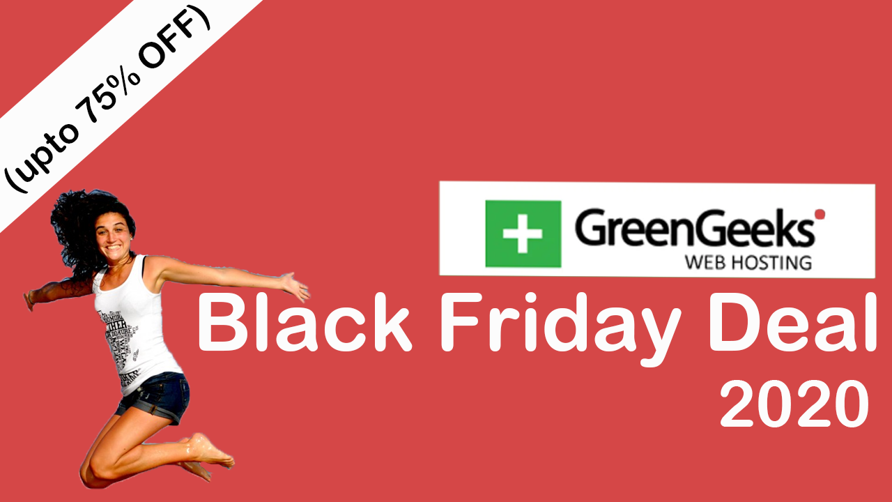 Greengeek Black Friday Deal 2020 upto 75% off