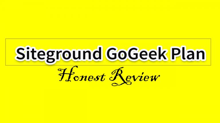Siteground-GoGeek-Plan