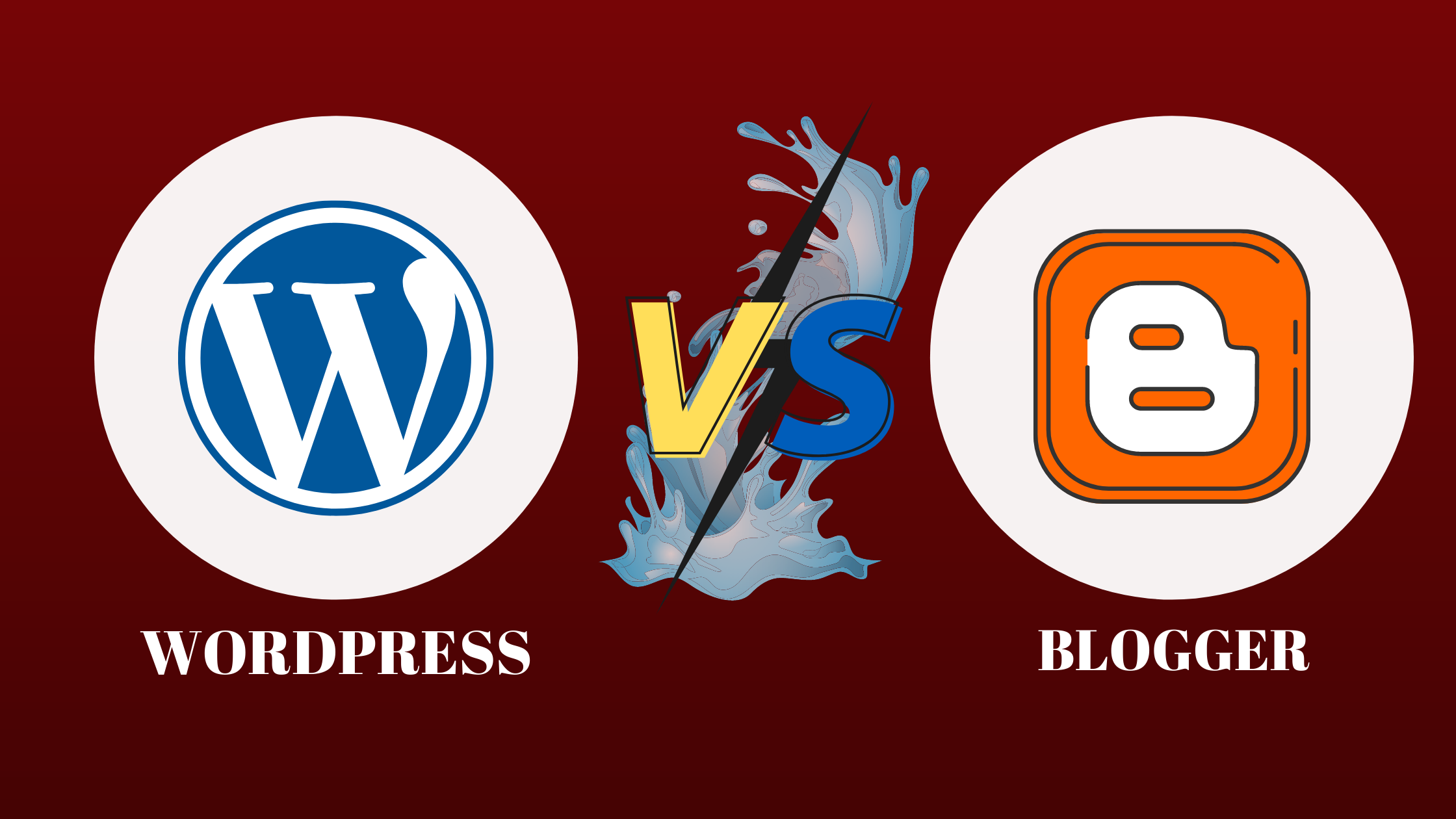Wordpress vs Blogger which is best